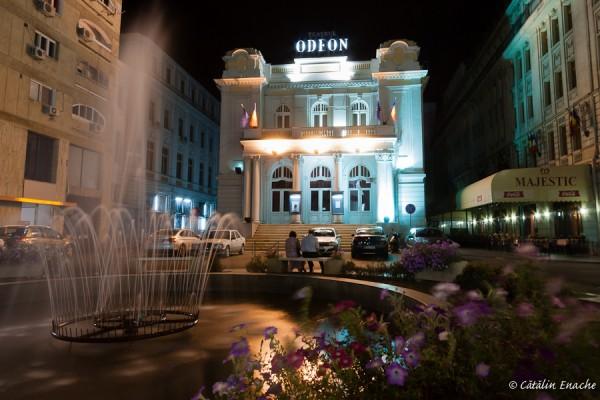 Noaptea pe Calea Victoriei | Fotografie nocturna | Catalin Enache