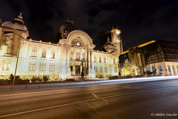 Noaptea pe Calea Victoriei   Fotografie nocturna   Catalin Enache