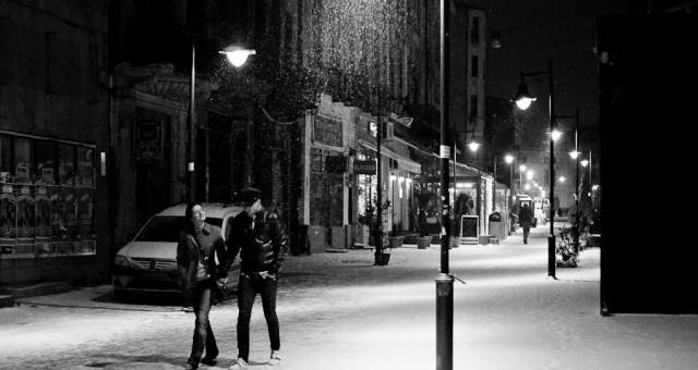Ninge cu fulgi mari…in Bucuresti