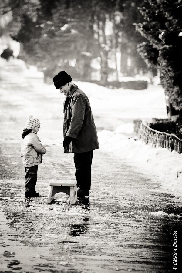 Povestiri de iarna - de prin parcuri adunate | Fotografie urbana | Catalin Enache