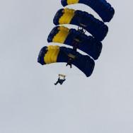 Aeronautic Show 2011 - parasutisti