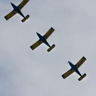 Aeronautic Show 2011 - Formatie de avioane Zlin