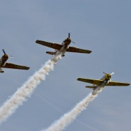 TransilvAero Show Clinceni - Iacarii Acrobati pe Yak 52