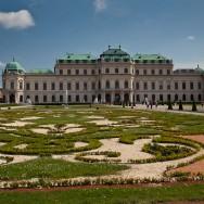 Viena - inghetata, biciclete si istorie - Palatul Belvedere