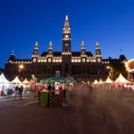Viena - inghetata, biciclete si istorie - Rathaus