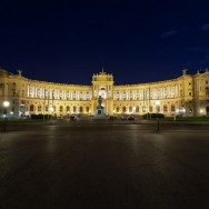 Viena - inghetata, biciclete si istorie - palatul Hofburg