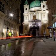 Viena - inghetata, biciclete si istorie - Peterskirche