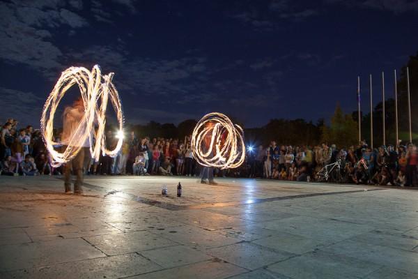 Festivalul Luminii - Parcul Carol, Bucuresti