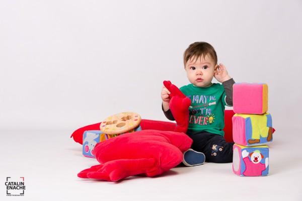 Fotografie copii studio - Victor | Fotograf Bucuresti - Catalin Enache
