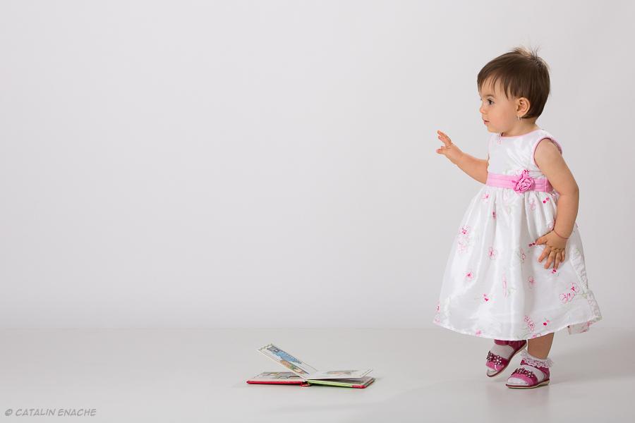 Fotografie copii in studio | Emma - 1an | Catalin Enache