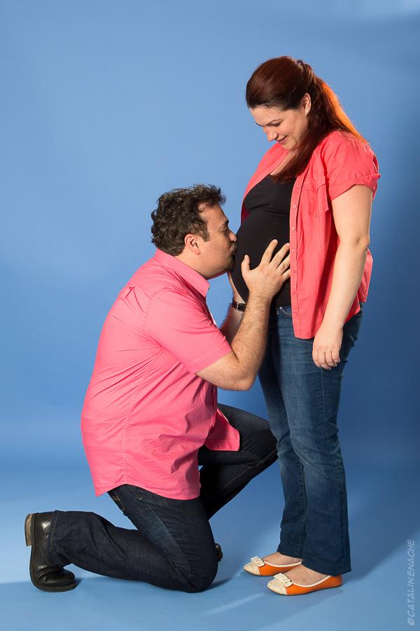 Fotografie de maternitate | Asteptandu-l pe Victor - Mari si Radu | Fotograf Catalin Enache