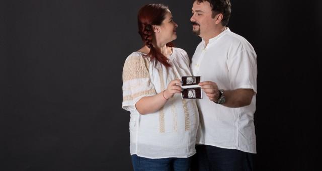 Victor, Mari si Radu - fotografie de maternitate