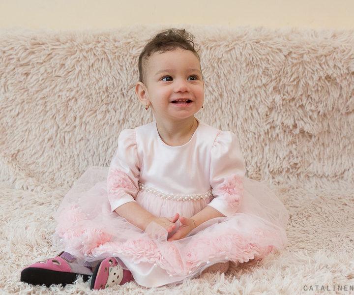 Sesiune foto copii 1 an - Iulia