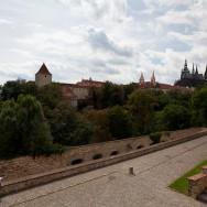Praga / Prague / Praha - Castelul (Pražský hrad) - gradinile